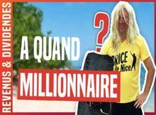 Millionnaire Bourse