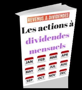 Actions américaines à dividendes mensuels