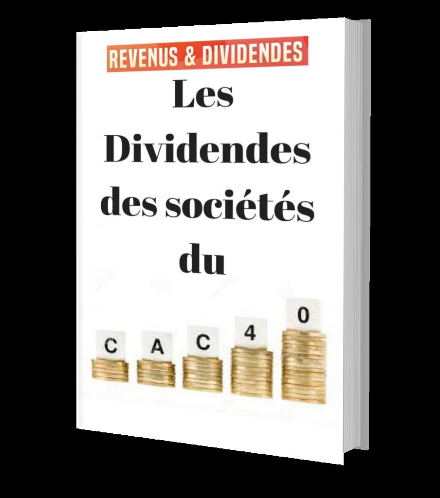 dividendes sociétés actions cac 40