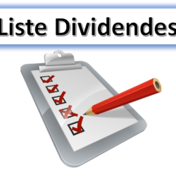 liste actions dividendes