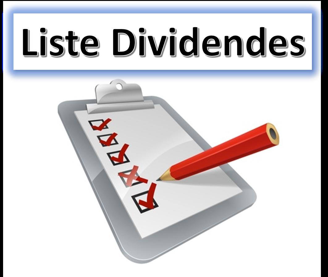 liste action dividendes