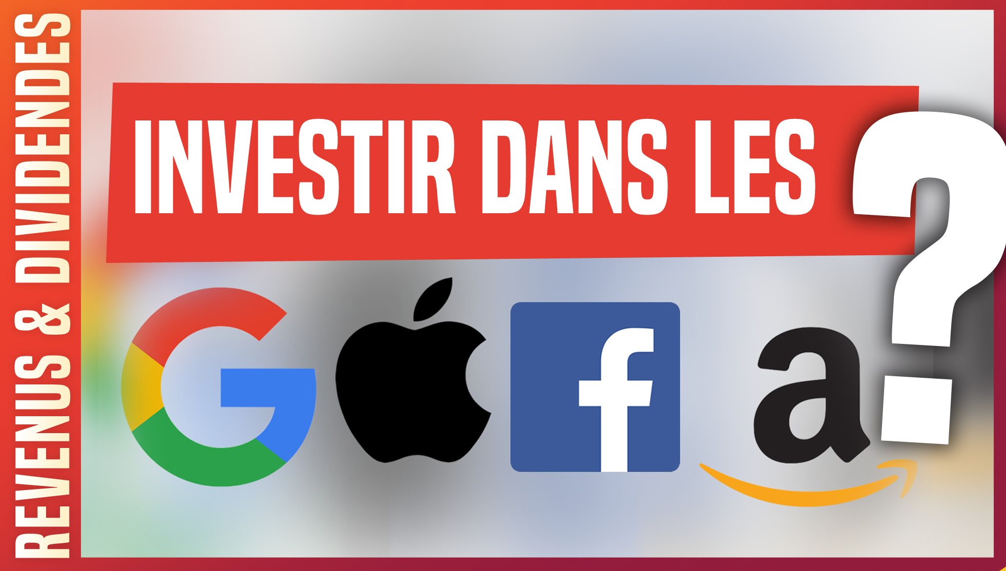 actions bourse facebook google amazon apple gafa