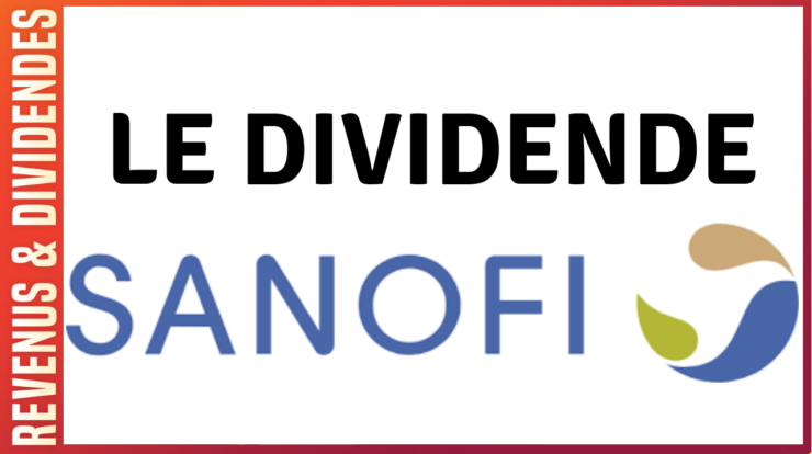 dividende action rendement sanofi