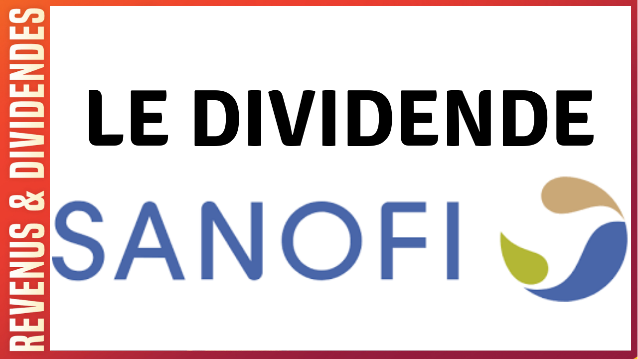 dividende action rendement sanofi