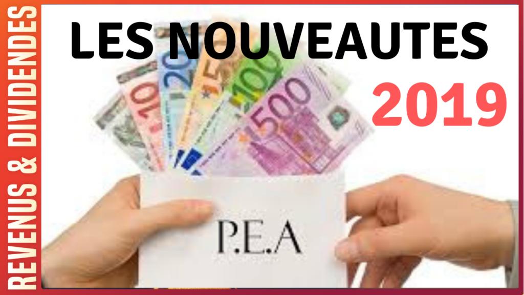 pea 2019 fiscalité loi pacte pea-pme