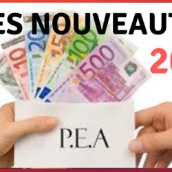 pea 2019 fiscalité loi pacte