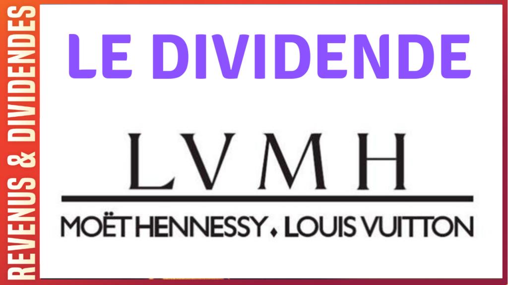 Dividende action bourse LVMH