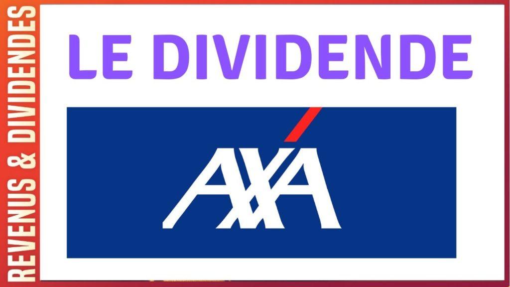 Dividende action Axa