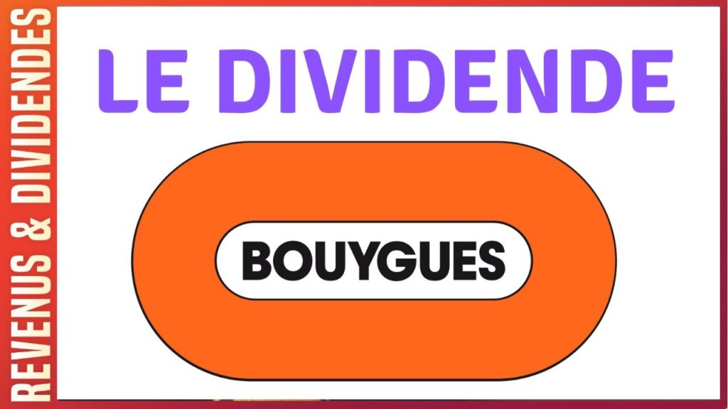 Dividende action Bouygues rendement