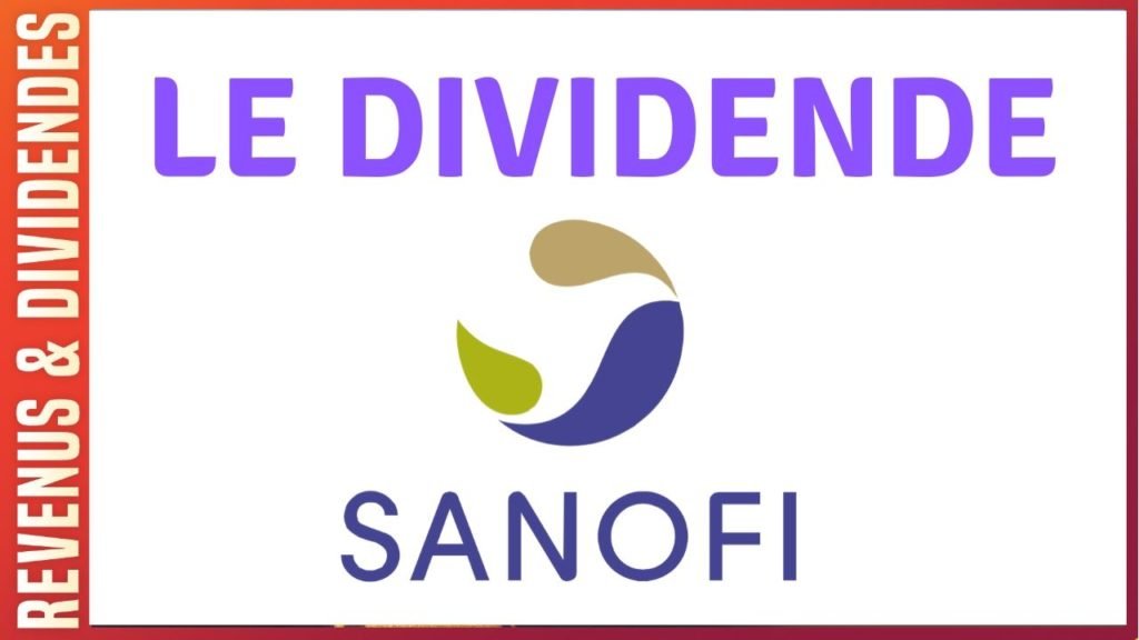 Dividende action Sanofi bourse rendement