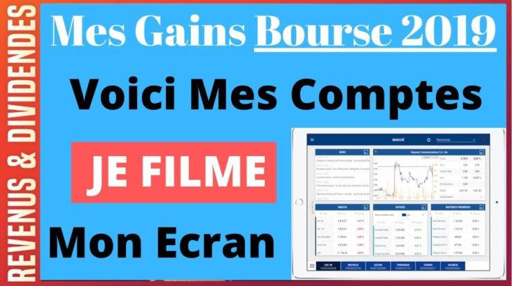 Gagner bourse 2019 2020