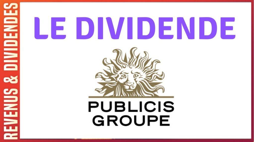 Dividende action Publicis Groupe et rendement