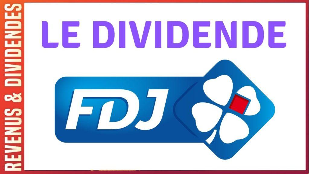 Dividende action Française des Jeux bourse