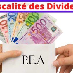 impots et taxes dividendes pea