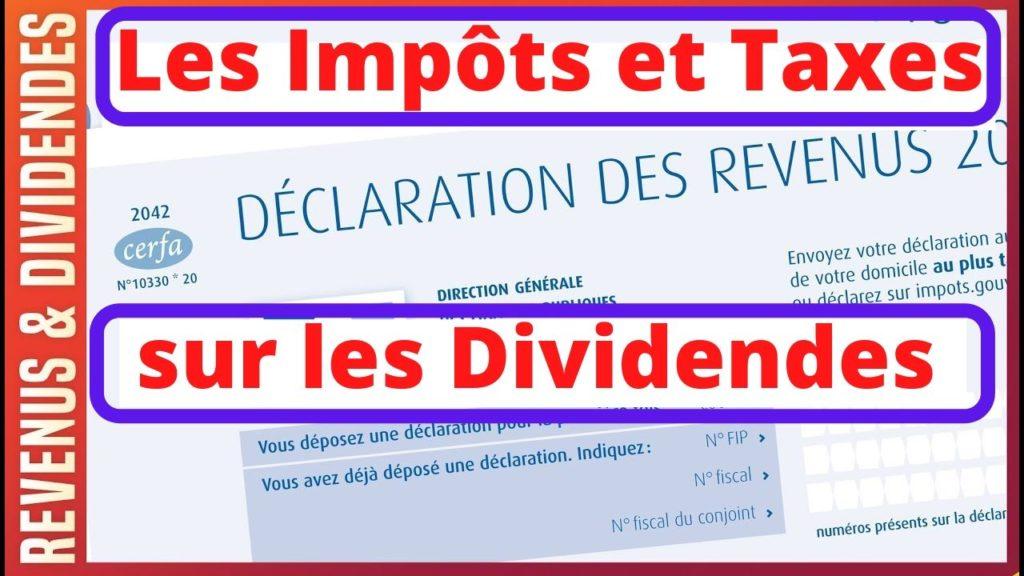 les impôts et taxes sur les dividendes en 2020 : flat tax, pfu.